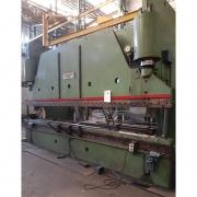 Prensa Dobradeira Viradeira Hidráulica 6m x 10 mm 400 toneladas Cincinnati - VN85 Usado