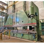 Prensa Dobradeira Viradeira Hidráulica 7m x 12 mm 600 toneladas Cincinnati - VN86 Usado