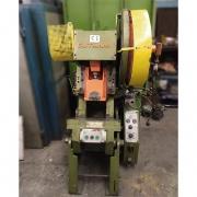 Prensa excêntrica 15 ton inclinável freio fricção Gutmann - VN83 Usado