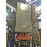 Prensa Excêntrica Inclinável freio Fricção 200 toneladas Shuller - RG2 Usado