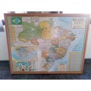 Quadro Mapa Brasil 2001 TR30 – Usado