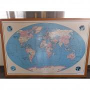 Quadro Mapa Mundi TR32 – Usado