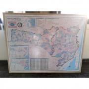 Quadro Mapa Santa Catarina TR27 – Usado