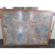Quadro Mapa São Paulo Centro Expandido TR31 – Usado