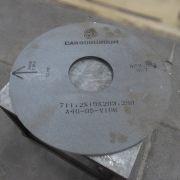 Rebolo para Retífica Carborundum NOVO A46 VG481