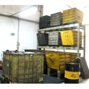 Cavaco Separador de Resíduos Líquidos dos Cavacos - CR71 Usado