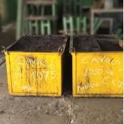 Sucata de cavaco aço e ferro fofo novo 2 toneladas - ML163 Usado