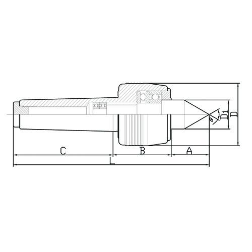 Contra Ponto giratória standard - 4B BZ-MT4B