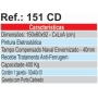 Bancada Tampo 40mm 1 Gaveta Ref.: 151 CD