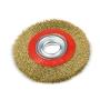 Escova De Aço Circular Latonada 6