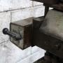 Furadeira De Coluna Dupla Vertical Trifásica P/ Mármore Tb34