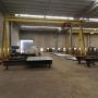 Pórticos com capacidade para 06 toneladas