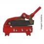 Tesoura P/cortar Chapa N°03 - Modelo Mtc-03 - Motomil - Nova