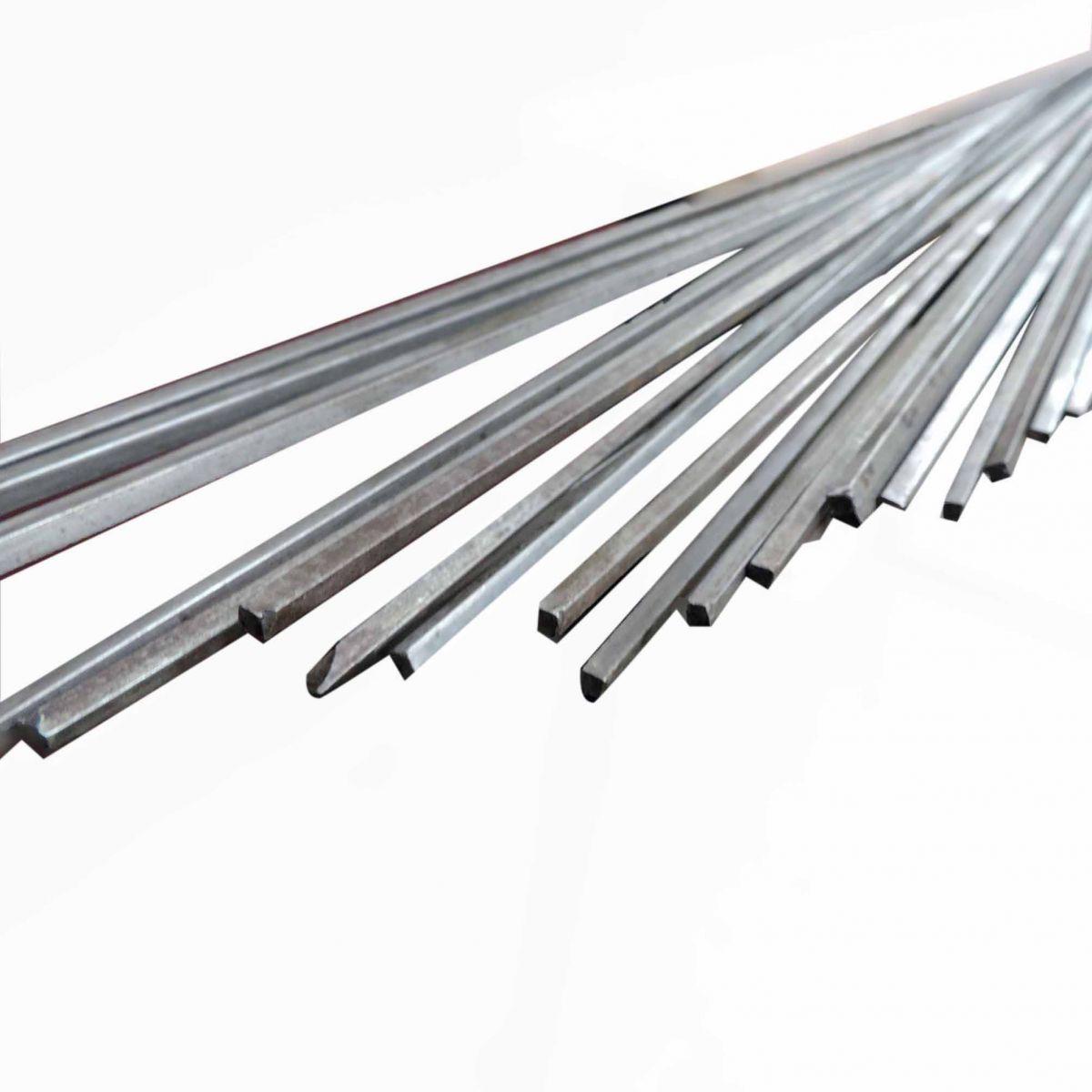 Aço 1.045, Barra Quadrada De 2,8 M X 4mm - Q1
