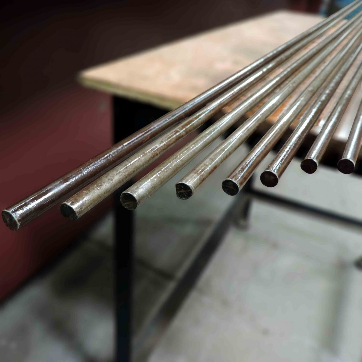 Aço 1.045, Barra Redonda De 13mm X 3,7m - Q14