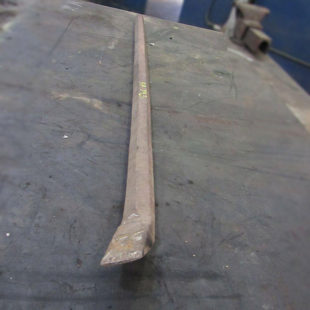 Alavanca longa de aço Pé De Cabra Simples SP193 - Usado