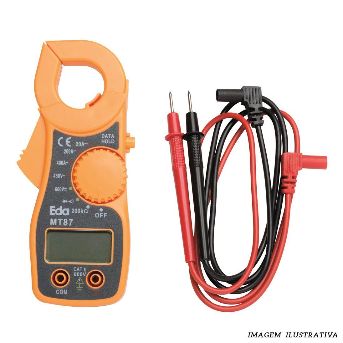 Alicate Amperímetro Digital - EDA 9KE