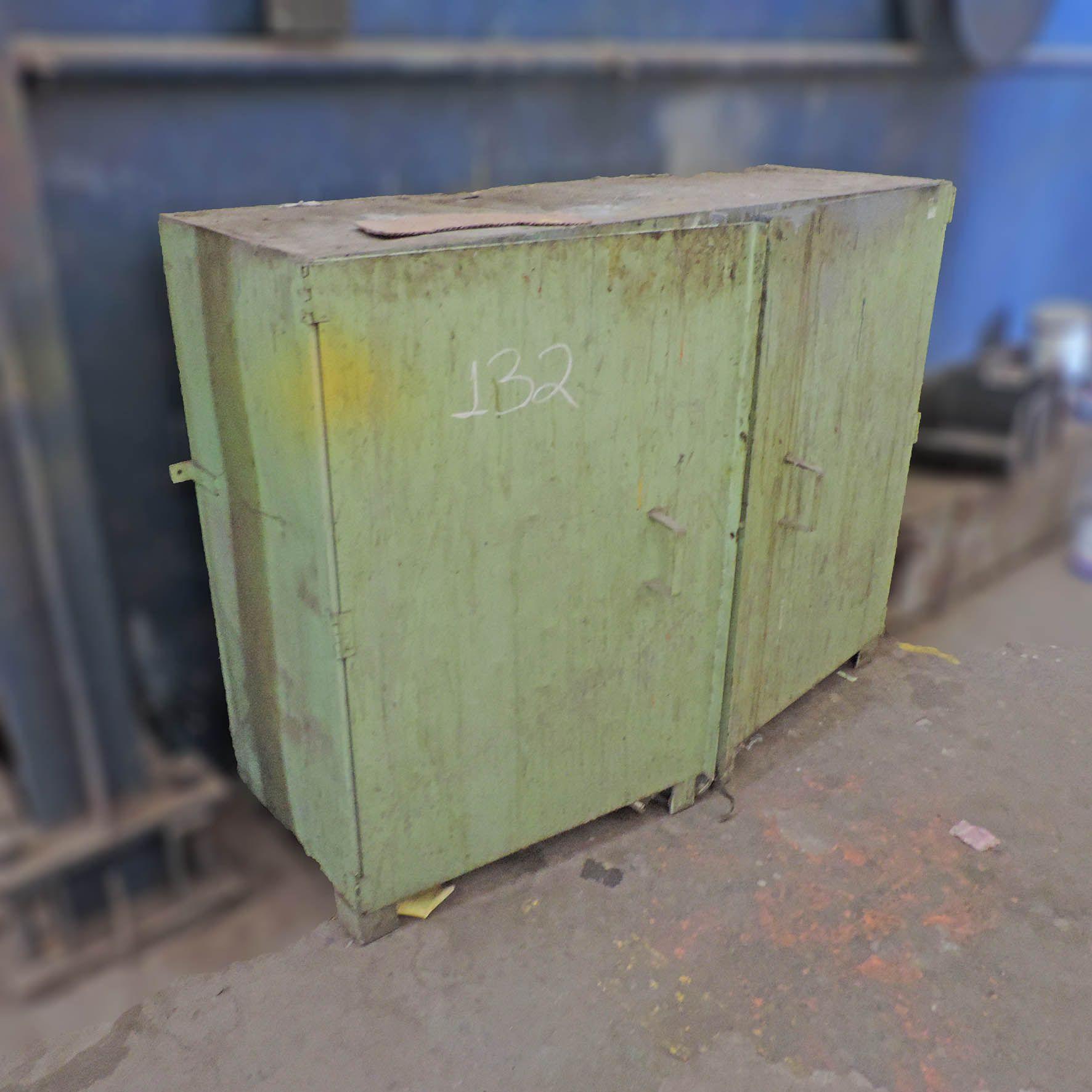 Armário de aço 2 Portas - SP132 Usado