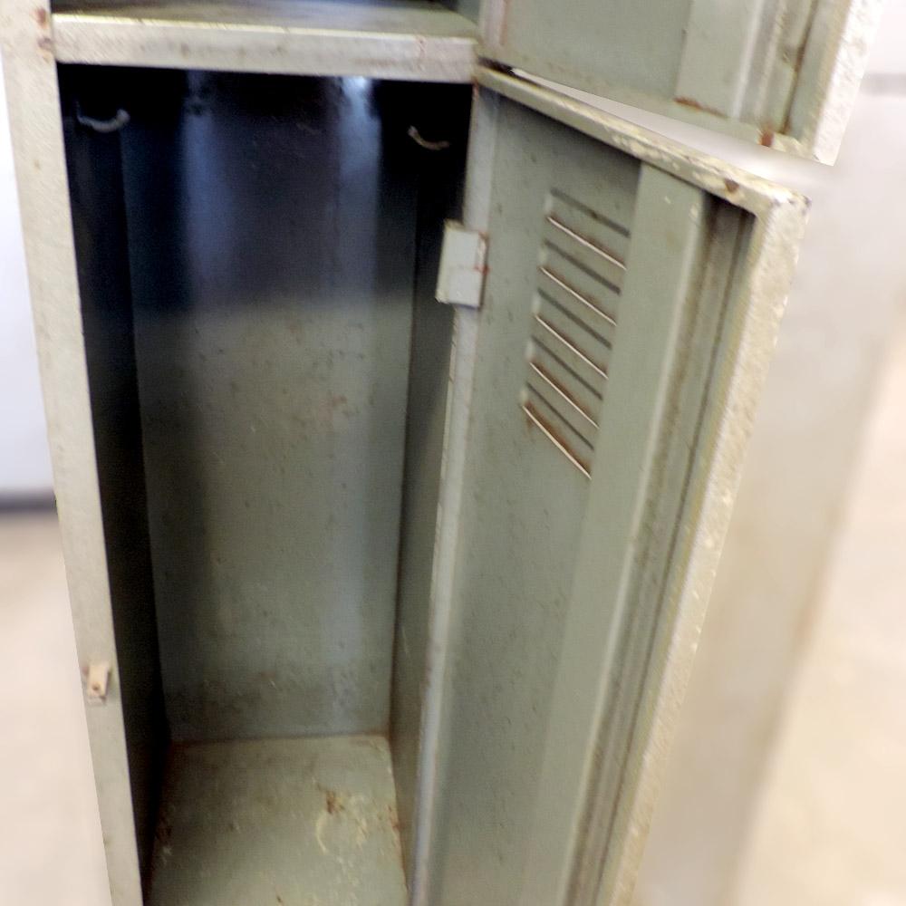 Armário Roupeiro De Ferro Com 4 Portas – Ba50 – Usado