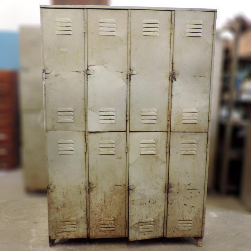 Arm rio roupeiro de ferro com 8 portas ba49 usado for Armario vestiario 8 portas