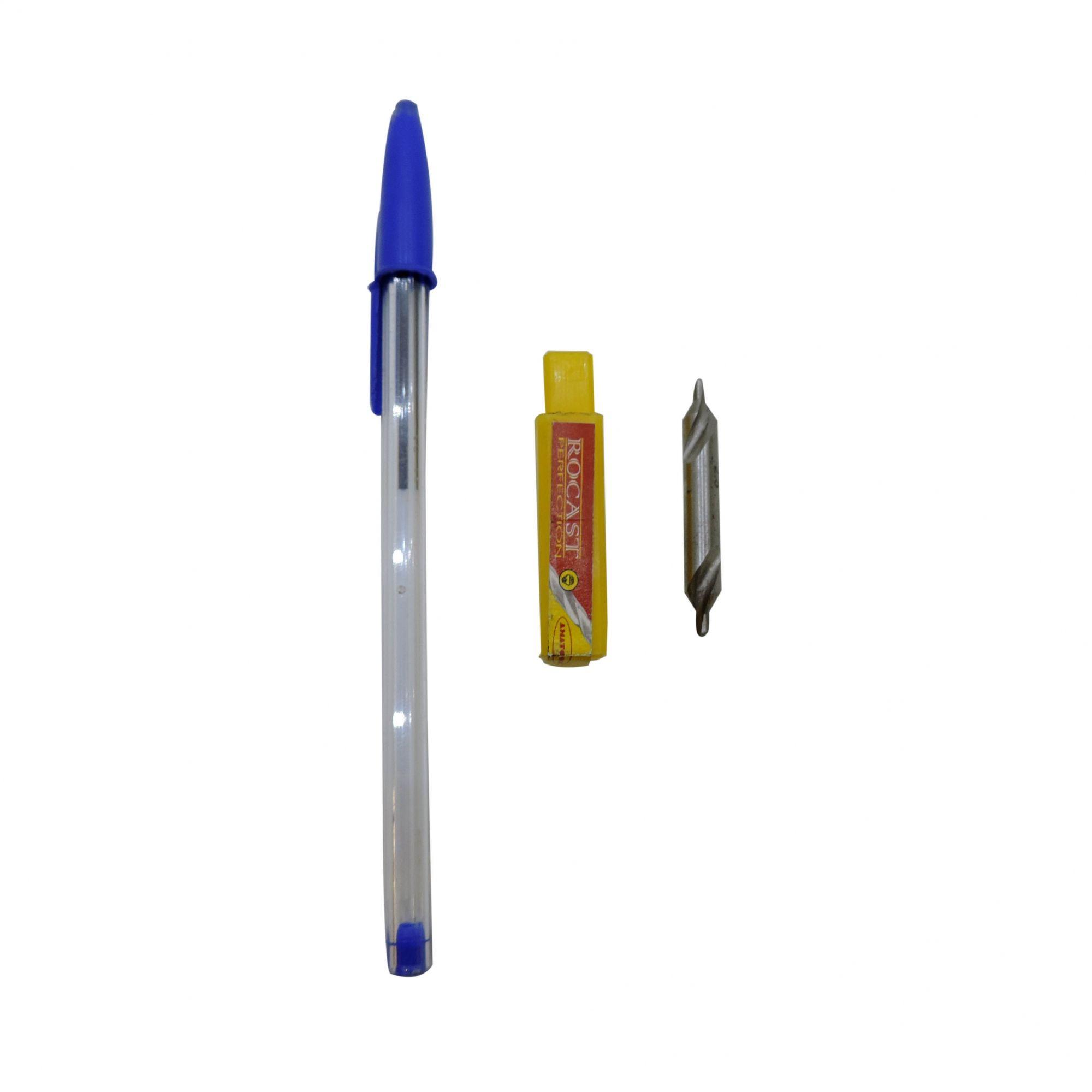 Broca de Centro em Aço Rápido - Rocast - HSS 2mm