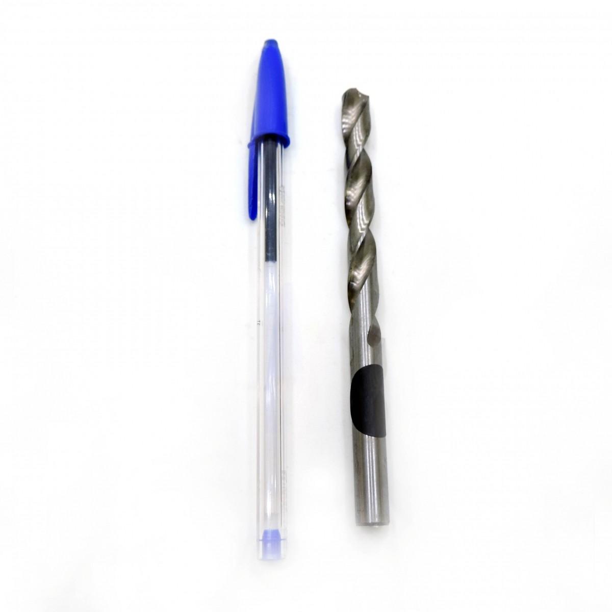 Broca Helicoidal Cilíndrica Mota - Hss 8,75mm Din 338 - Bh13