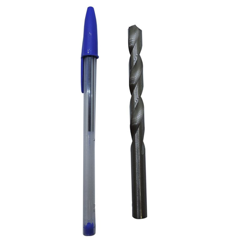 Broca Helicoidal Cilíndrica - Rocast - Hss 8mm Din 338