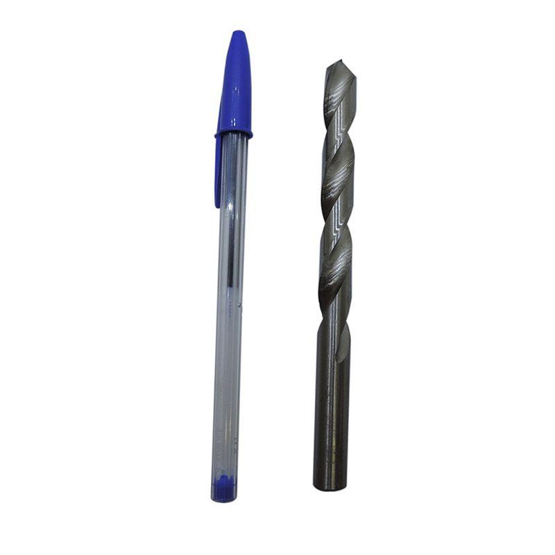 Broca Helicoidal Cilíndrica - Rocast - Hss 1,5mm Din 338