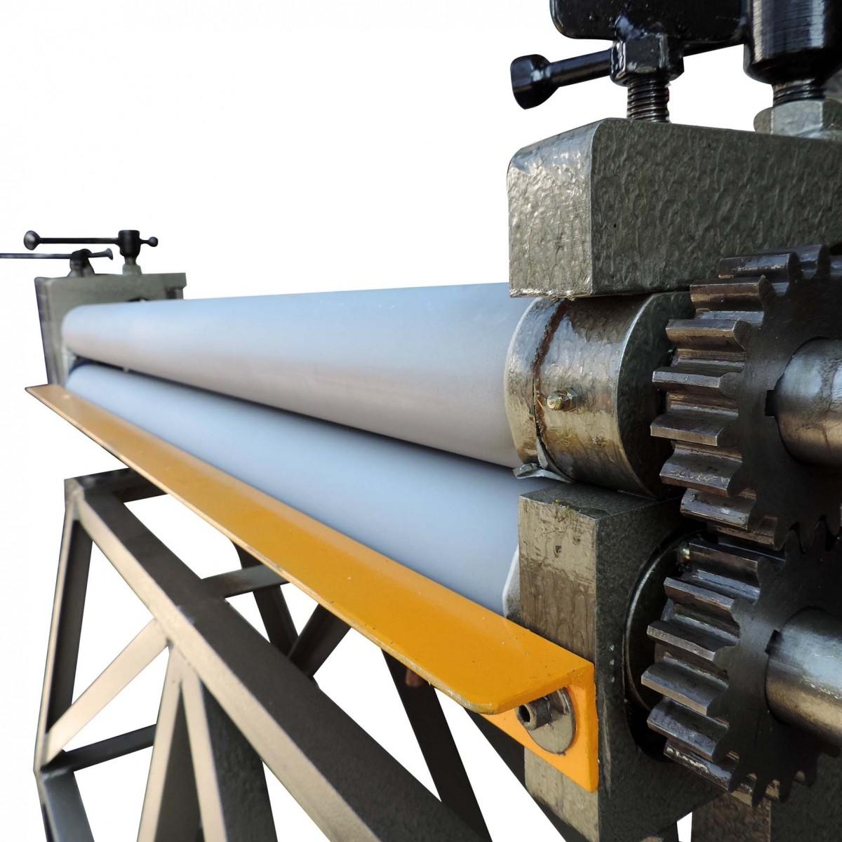 Calandra Manual Para Chapas Inicial Rmi 1220 X 2.5 Mm