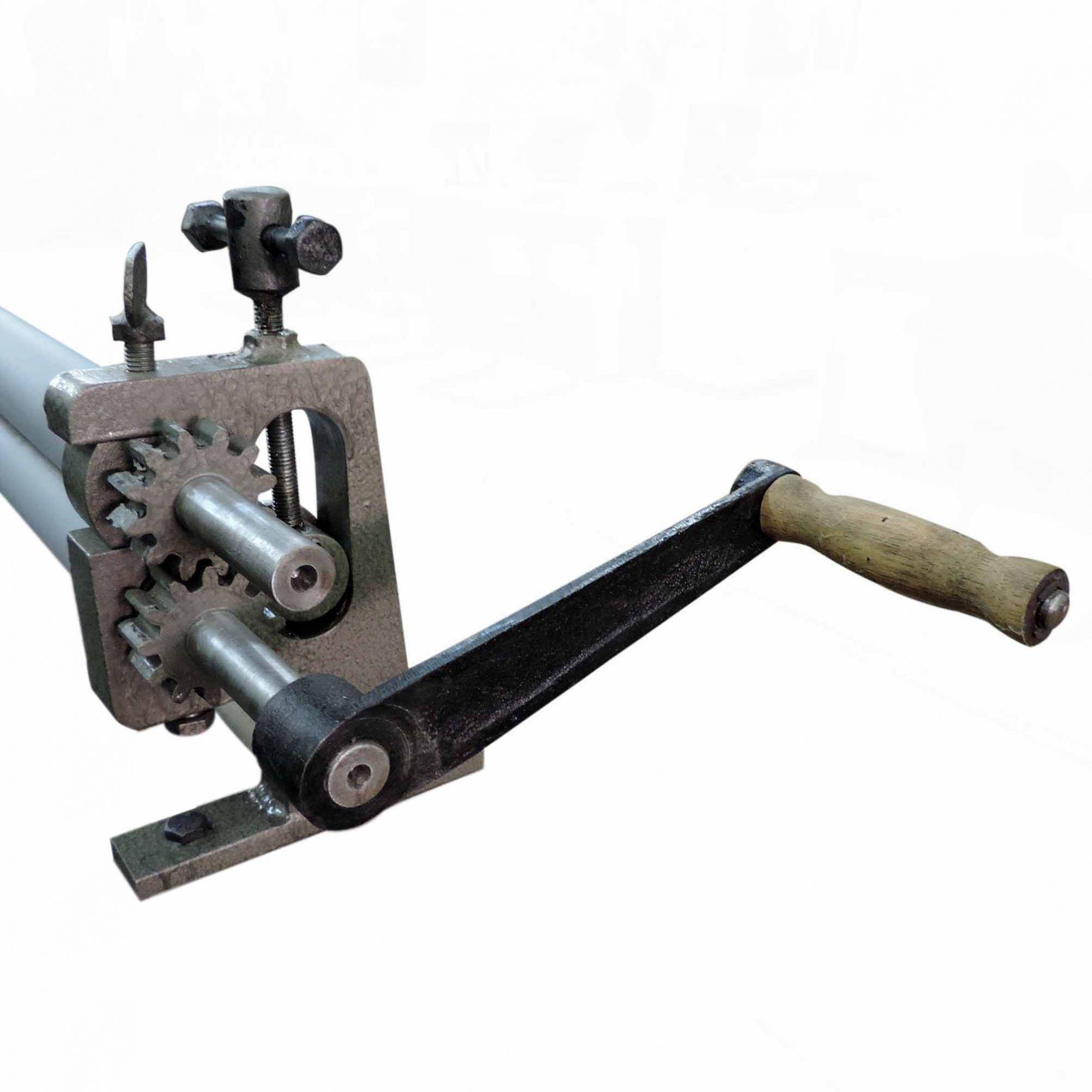 Calandra RMI 1250 Sem Bancada Manual Capacidade Para 1,2mm - Novo