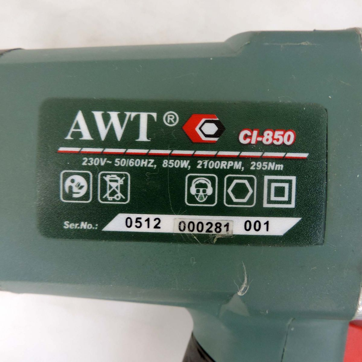 Chave De Impacto 220v Modelo Ci-850 Awt - Nova