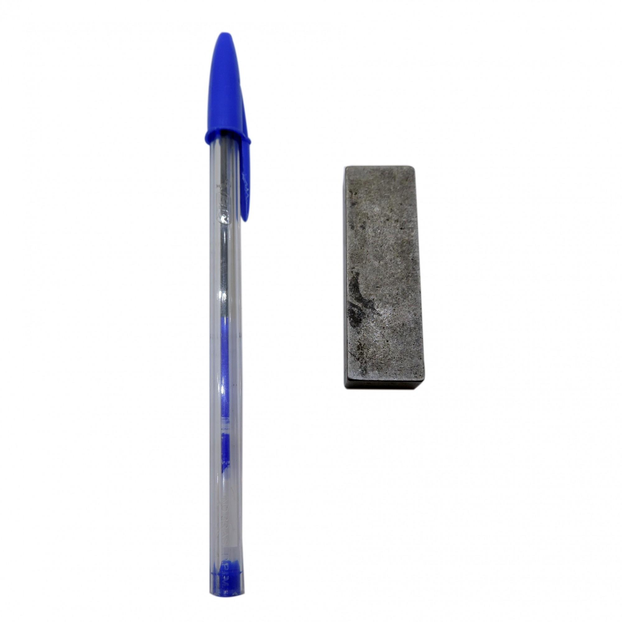 Chaveta Barra Retangular Em Aço 1045 Cva5 - Usada