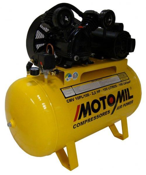 Compressor De Ar Profissional 110/220v-cmv 10pl100 - Motomil