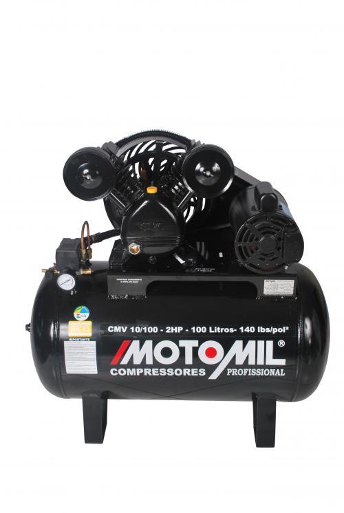 Compressor De Ar Profissional - cmv 10/100 - Motomil - Novo