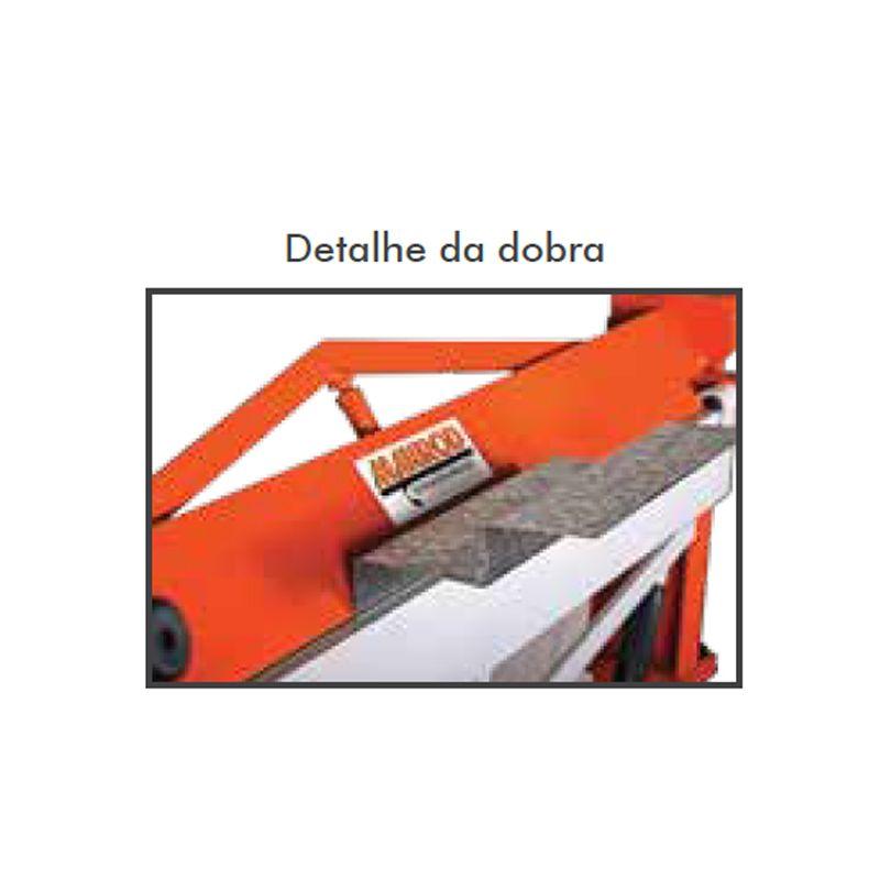 Dobradeira Para Chapas 460x1,2 Mr-3131