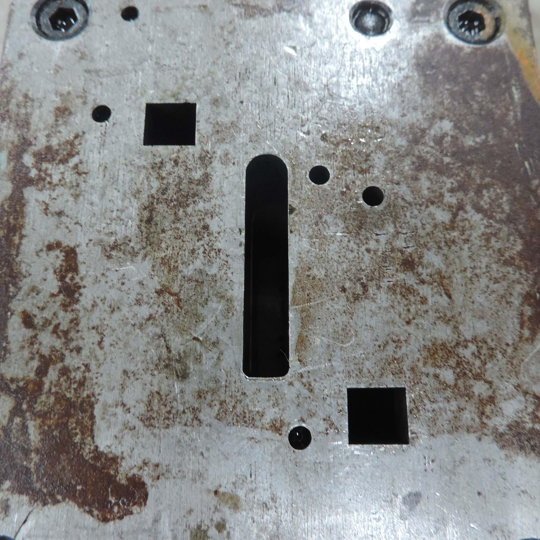 Estampo P/ Peça Retangular N° 25 ST141 –Usado