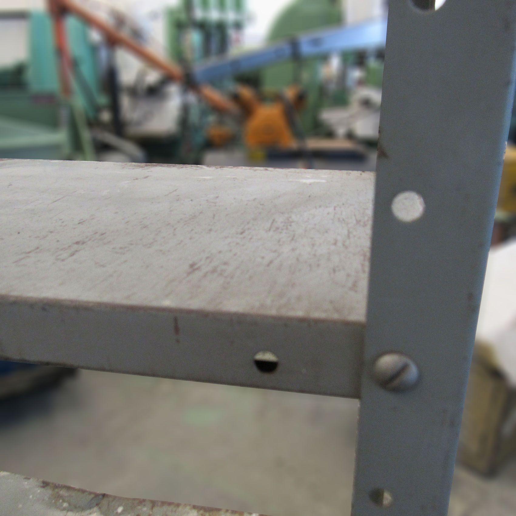 Estante Prateleira De Aço Multiuso 6 Divisórias CD181 - Usada