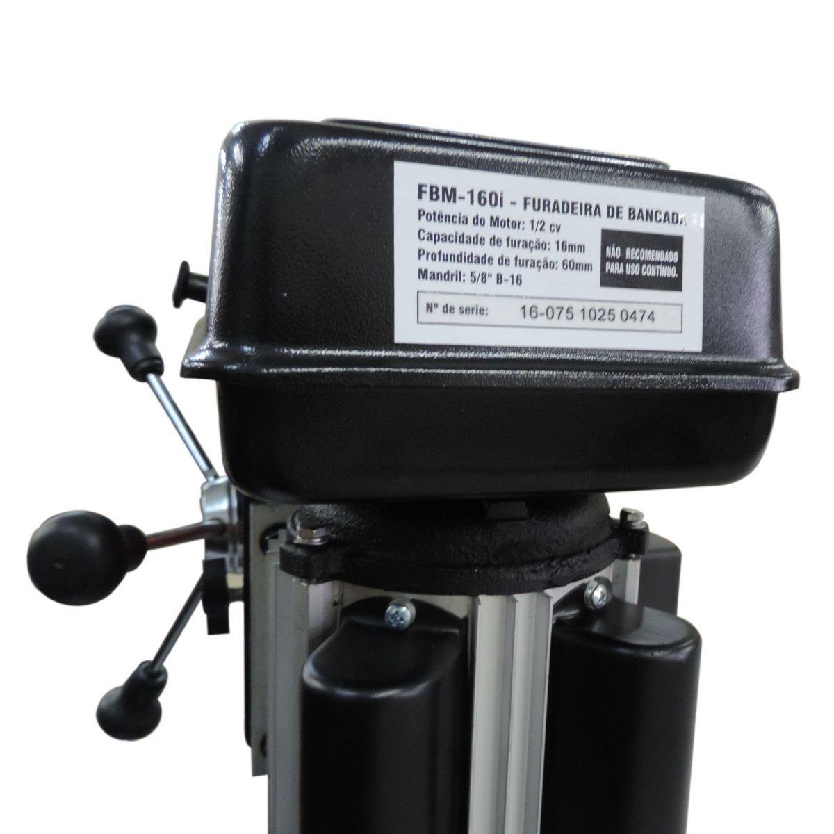 Furadeira De Bancada 1/2hp - Fbm-160i - Motomil