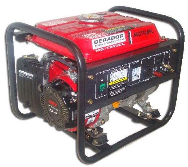 Gerador Á Gasolina - Mg-1200cl 127v - Motomil