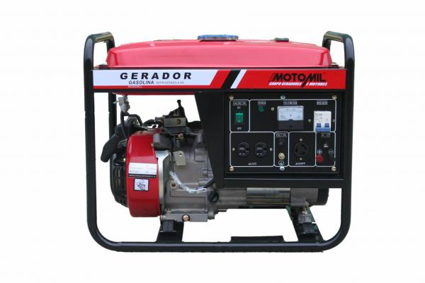Gerador Á Gasolina - Mg-2500cl - Motomil 127/220v