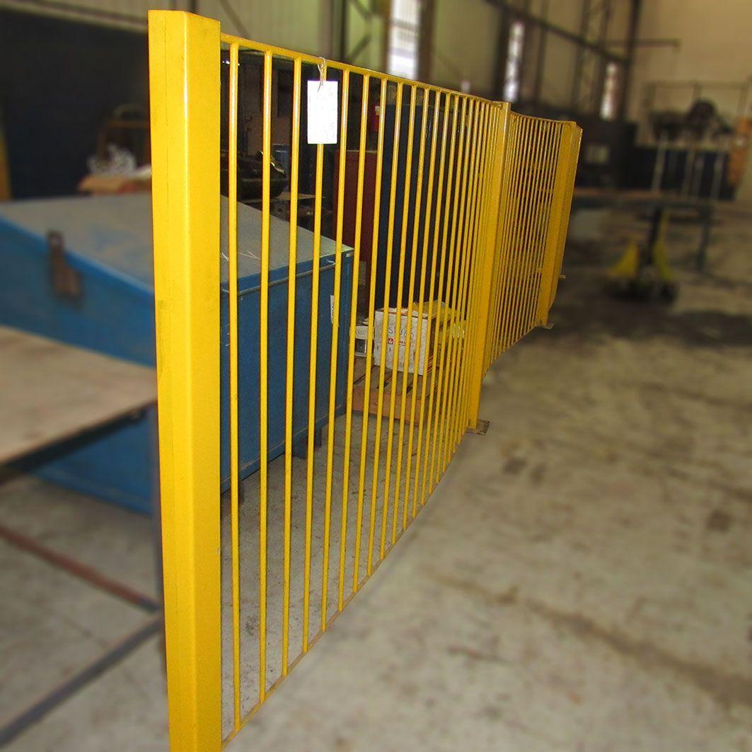 Grade de aço Reforçada Divisória SP195 – Usada