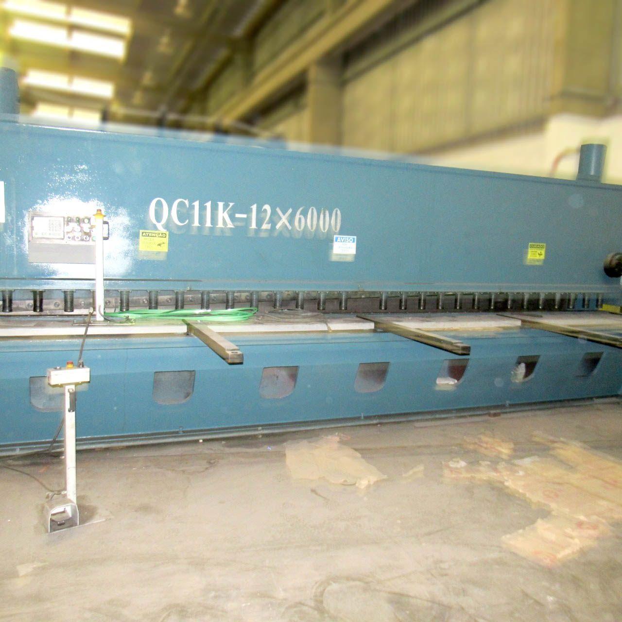Guilhotina Hidráulica 6000mm X ½'' QC11K Cd516