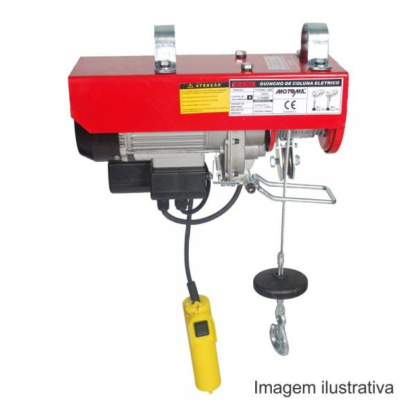 HA-101 GUINCHO ELÉTRICO DE COLUNA 100/200KG 220V - MOTOMIL