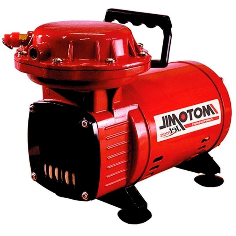 Jetmais Motocompressor 2,3 Pés Hobby 1/3 Hp 110/220 Motomil