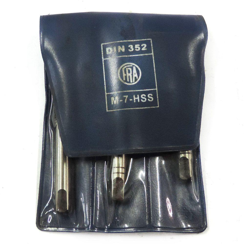 Jogo De Macho Manual HSS M7 DIN 352 Com 3 Peças
