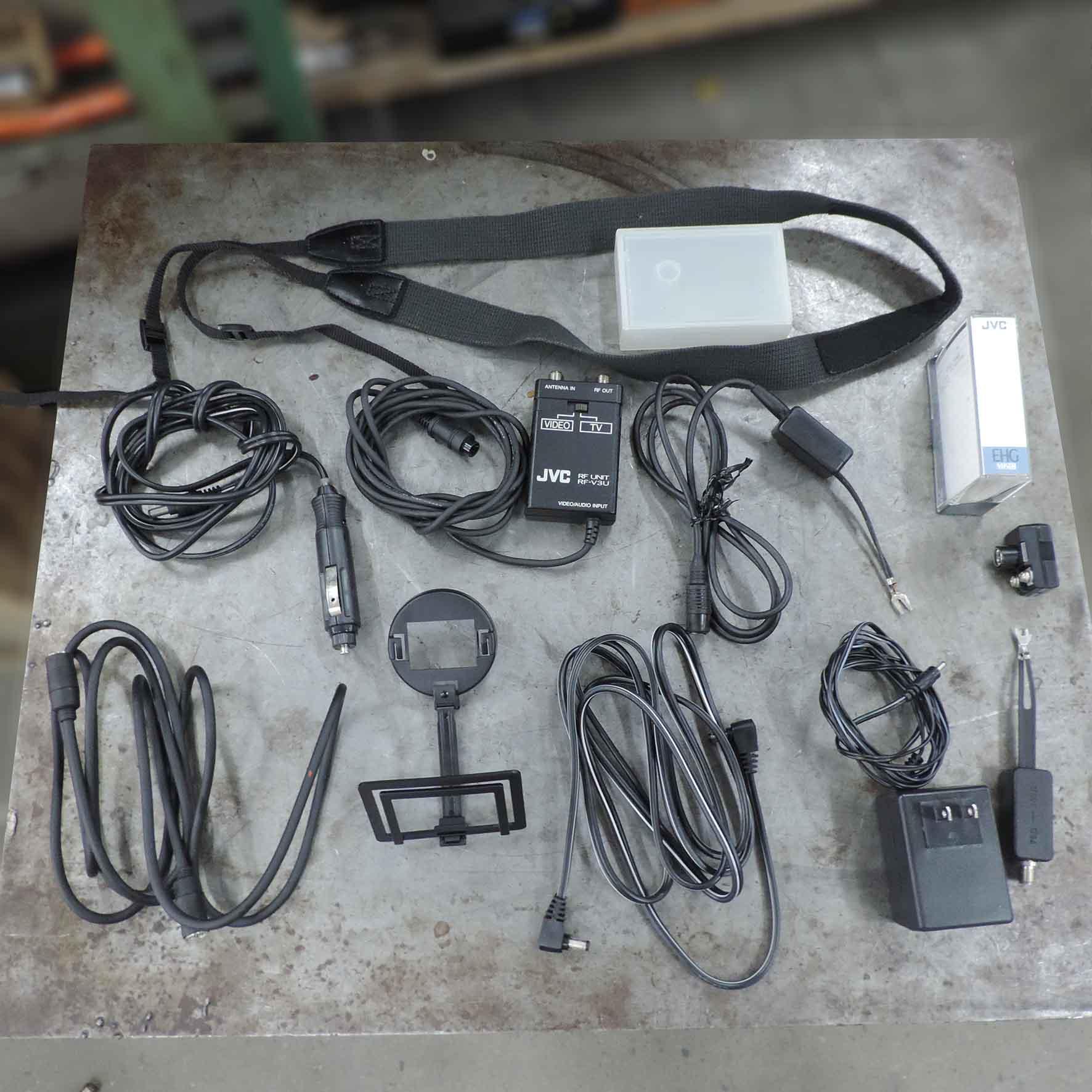Maleta + Acessório Da Câmera JVC SM173 - Usado