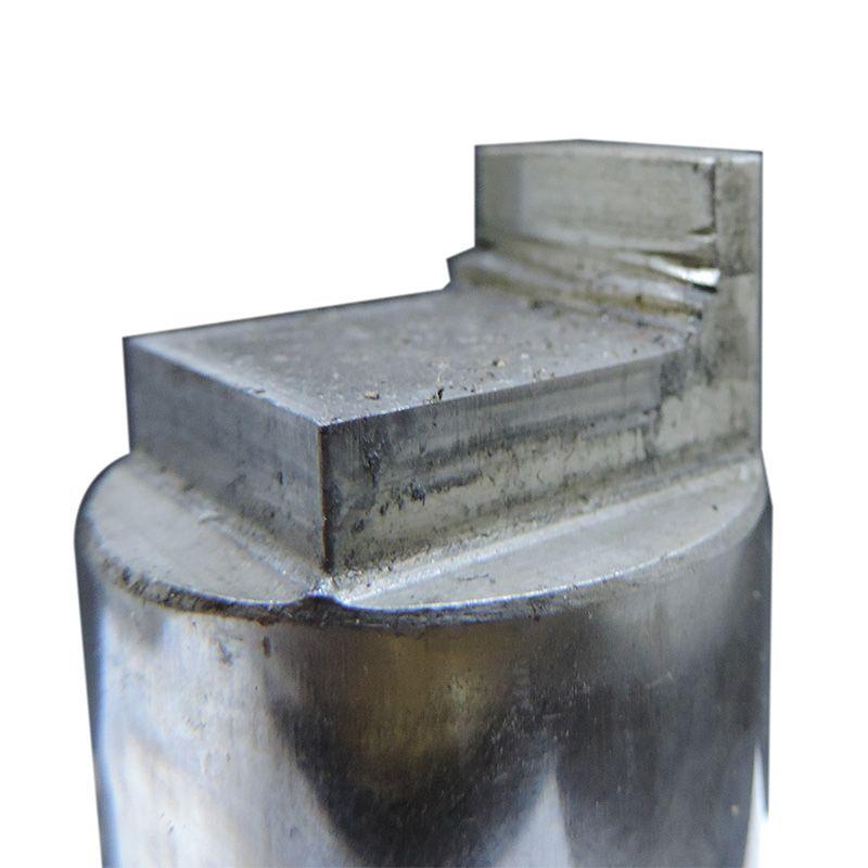 Rfe49 Matriz E Punção Unistamp Mb35 Oblongo Corte Com Guia