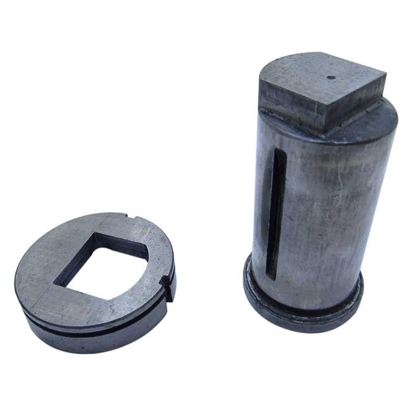 Rfe103 - Matriz E Punção Unistamp Mb35 Oblongo Especial