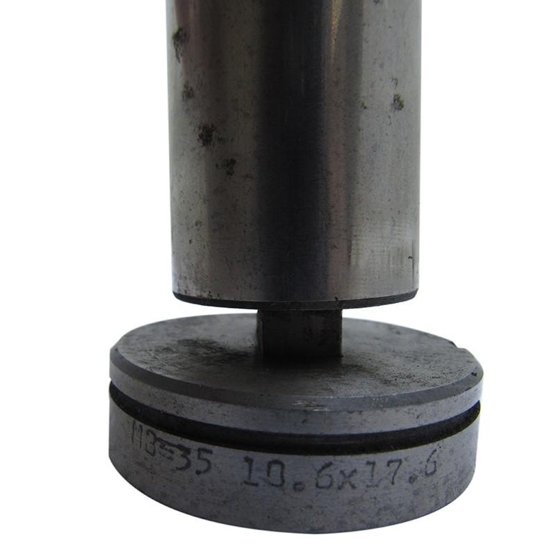 Rfe96 - Matriz E Punção Unistamp Mb35 Oblongo Retangular