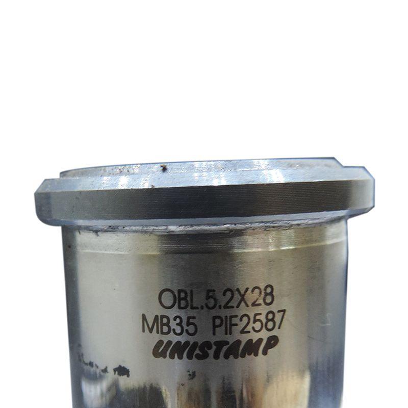 Rfe54 - Matriz E Punção Unistamp Mb35 Oblongo